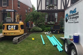 Yard Drainage Services in Buffalo, NY
